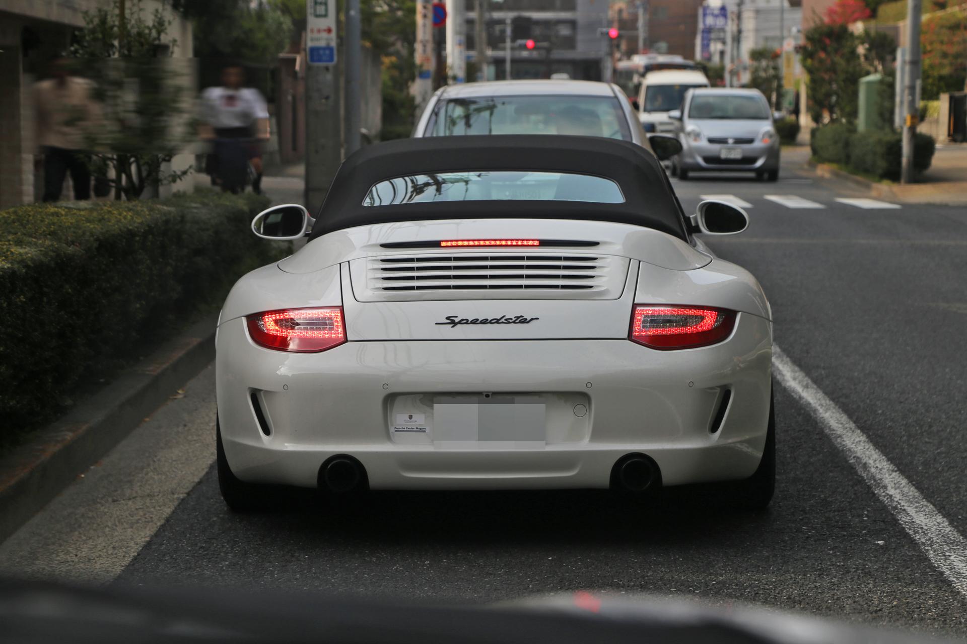 【ポルシェ997型911スピードスター】